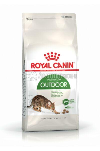 Royal Canin - Cat Outdoor macskatáp 4kg