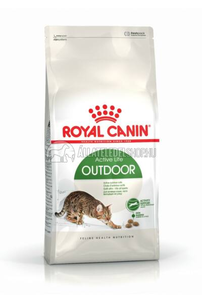 Royal Canin - Cat Outdoor macskatáp 4kg