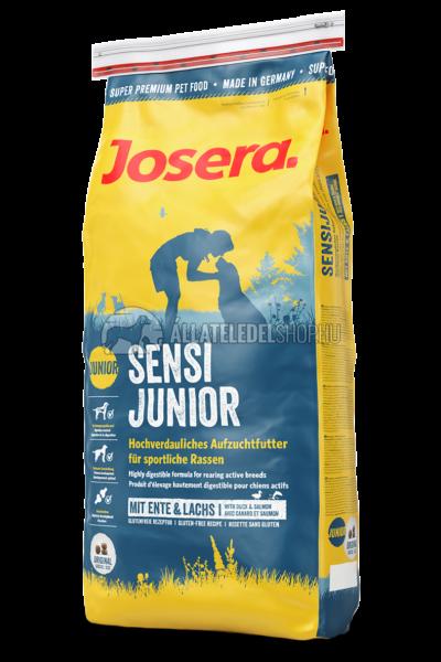 Josera - Junior SensiJunior - Kacsa és Lazac kutyatáp 4,5kg
