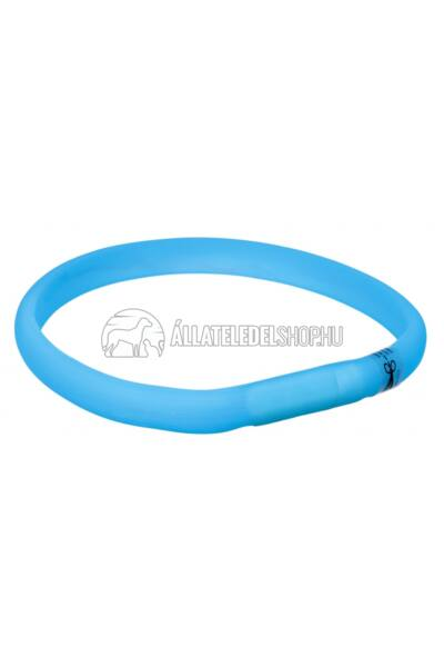 Trixie - USB Flash Light Band - Nyakkarika  Xs-S 35cm/18mm Kék