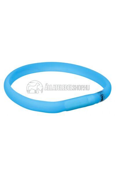 Trixie - USB Flash Light Band - Nyakkarika  Xs-S 35cm/18mm Kék