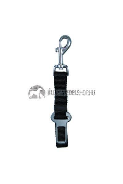 """Trixie - Biztonsági öv """"O"""" csatlakozású rövid póráz autóba 45–70cm/30mm"""