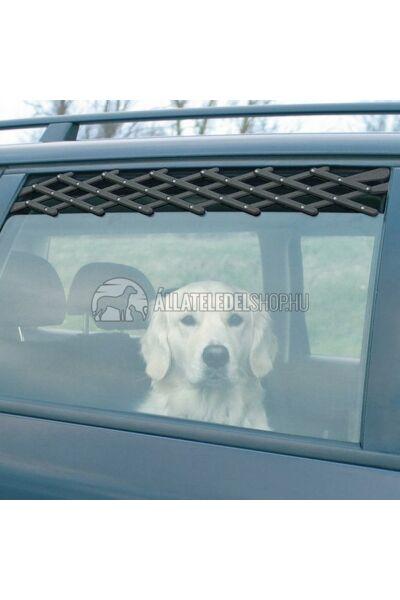 Trixie - Szellőzőrács Autóba Fekete 24-70cm