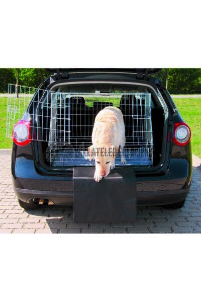 Trixie - Lépcsö Elem Autóhoz fekete 50x60 cm