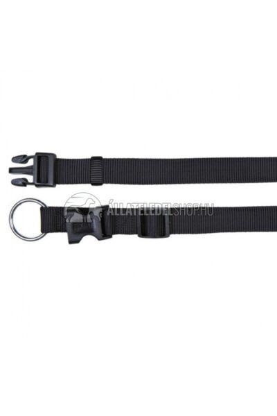 Trixie - Classic Textil Nyakörv Fekete XS-S 22-35cm / 10mm