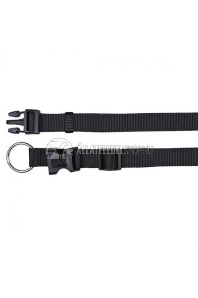 Trixie - Classic Textil Nyakörv Fekete L-XL 40-65cm / 25mm