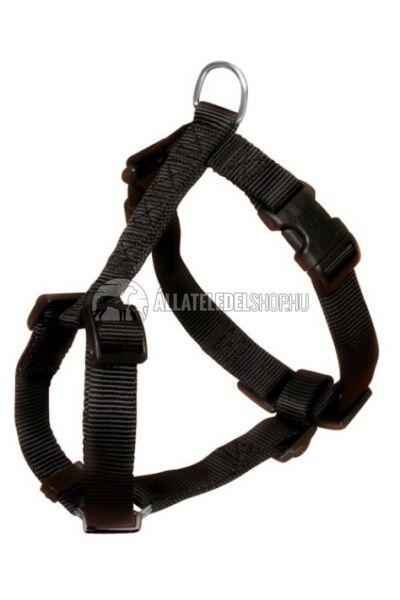 Trixie - Classic Textil H - Hám Fekete L-XL 75-100cm / 25mm