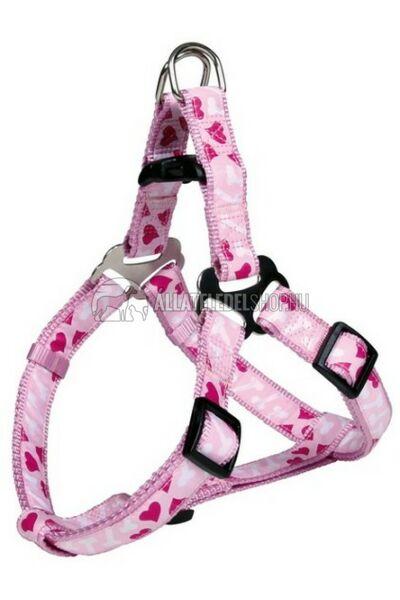 Trixie - Modern Art Rose Step Hám Rózsaszin XS 25-35cm / 10mm