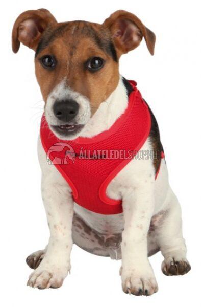 Trixie - Puppy  Soft Kölyök szett hámmal, pórázzal Piros 26-34cm / 10mm / 2m