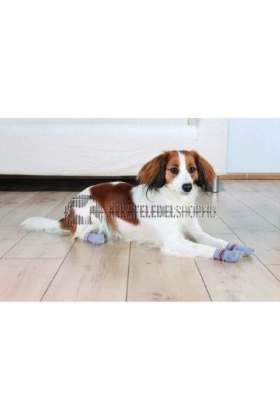 Trixie - Kutyazokni Csúszásmentes Talppal Xs-S Szürke 2db/Csomag