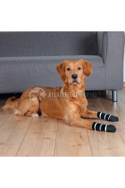 Trixie - Kutyazokni  Extrém Csúszásmentes Talppal Xs-S Szürke 2db/Csomag