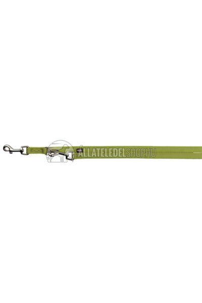 Trixie - Prémium Kiképző Póráz M-L 2m/20mm Világoszöld