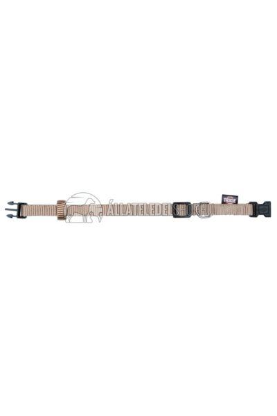 Trixie - Prémium Nyakörv S–M 30–45cm/15mm Bézs