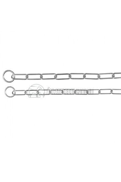 Trixie - Fojtó Lánc Nyakörv Hosszúszemű 78cm/4mm