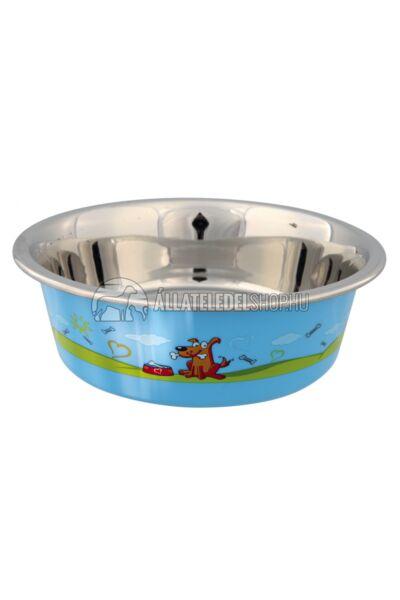 Trixie - Doggie Fém Tál Műanyag, színes bevonattal 0,5l/14cm