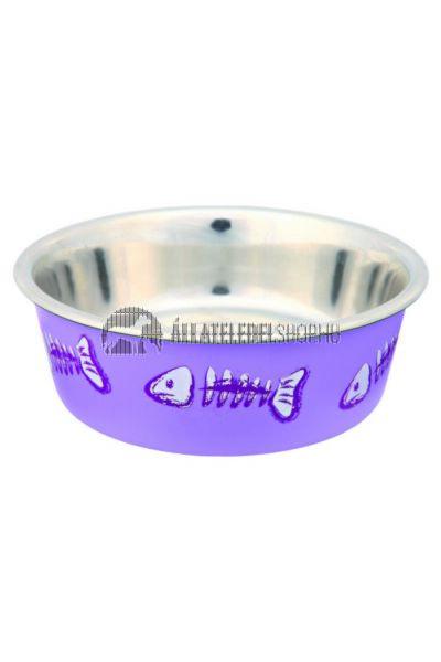 Trixie - Cat Fém Tál Műanyag Bevonattal 0,3l/12cm