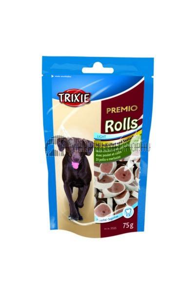 Trixie - Premio Rolls Light Hal és Csirkés 75g