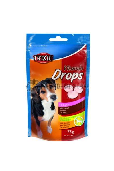 Trixie - Jutalomfalat Joghurtos Drops 75g