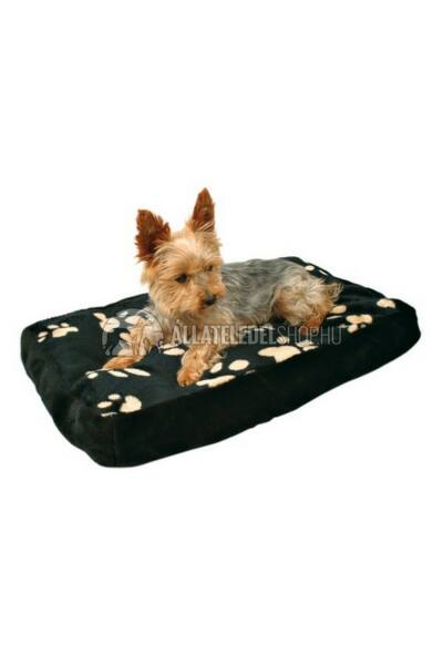 Trixie kutyafekhely - Párna Winny Tappancsos 80x55cm Fekete