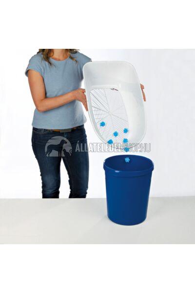 Trixie - Berto Macska Wc három részes 39x22x59cm Kék-Fehér