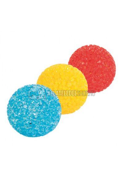 Trixie macska játék - Glitteres Csörgös Labda 5cm
