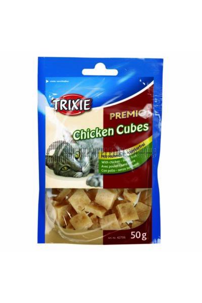 Trixie - Jutalomfalat Premio Cubes 50g Csirke