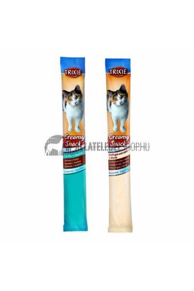 Trixie - Jutalomfalat Creamy Snacks 6x15g 2 ízben Lazac/Baromfi-Máj