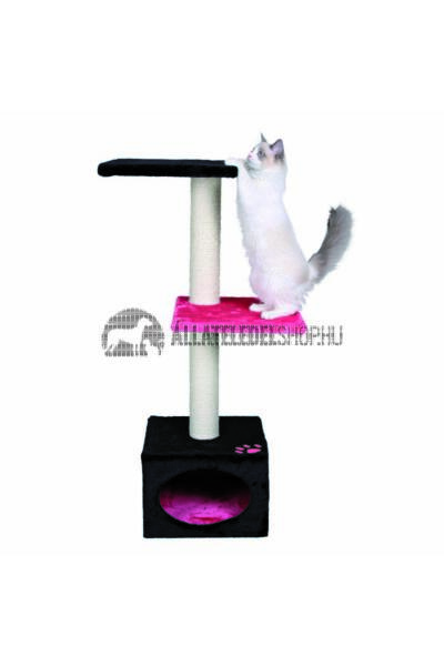Trixie - Badalona Macskabútor Odúval  109cm Fekete-Pink