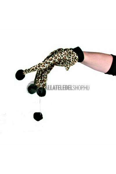 Trixie macska játék - Kézrehúzható Leopárd Mintás