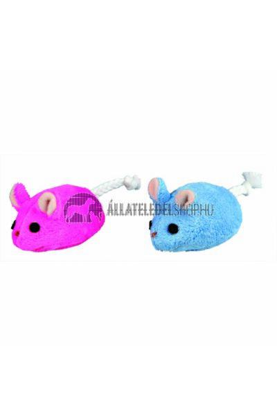 Trixie macska játék - Plüss Egér 6cm Több Színben
