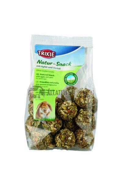 Trixie - Natural Snack Labdák Rágcsálónak Alma-Tönköly 140g