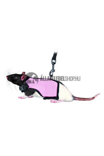 Trixie - Soft Hám Pórázzal Patkányoknak 12–18cm 1,20m