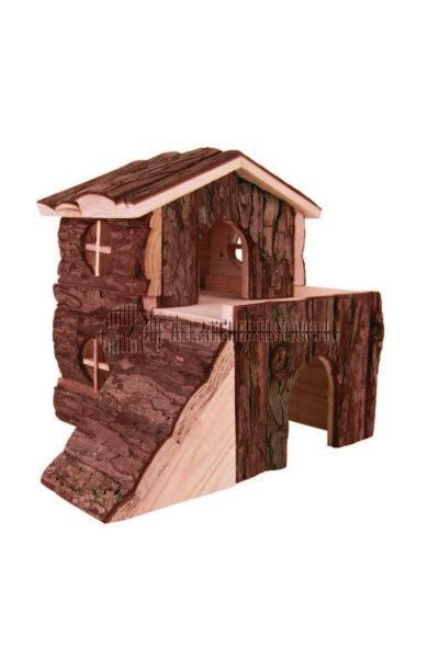 Trixie - Bjork Ház Fából Rágcsálóknak 21×19×21cm