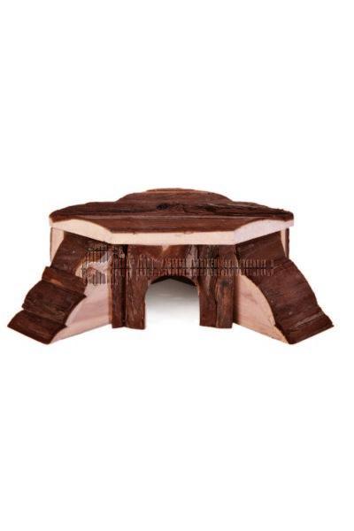 Trixie - Thordis - Sarok Ház Fából Rágcsálóknak 21×7×19/19cm