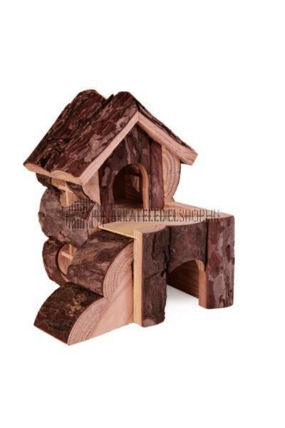 Trixie - Bjork Ház Fából Rágcsálóknak 15×15×16cm