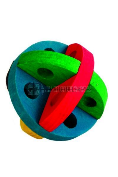 Trixie - Rágcsálóknak Eledellel Tölthető Fa Karika 8cm