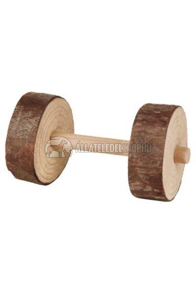 Trixie - Játék Súlyzó Fából Tengeri Malacnak Nyúlnak 2 Féle 9× 4,5cm