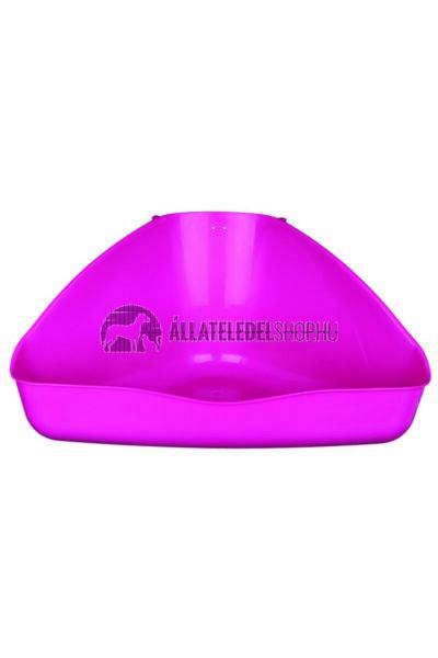 Trixie - Corner Wc Sarok Rágcsálóknak Műanyag 45×21×30cm / 30cm