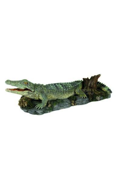 Trixie - Akvárium Dekor Krokodil 26cm