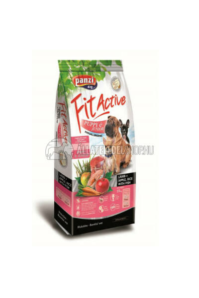 Kutyatáp - Fitactive Premium Puppy Lamb Apple Rice