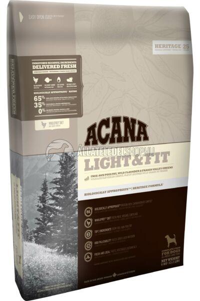 Acana - Light & Fit Csirke - Hal - Zöldség Mini gabonamentes kutyatáp
