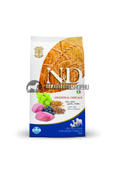 Kutyatáp - Nandd Adult Lamb and Blueberry Extra Mini