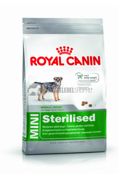 Royal Canin - Mini Sterilised kutyatáp