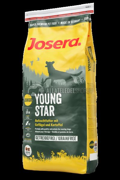 Josera - Junior Youngstar -Csirke és Burgonya gabonamentes kutyatáp 4kg