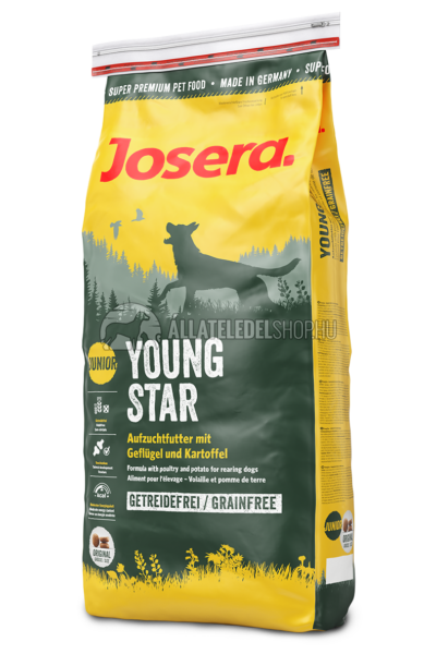 Josera - Junior Youngstar -Csirke és Burgonya gabonamentes kutyatáp 15kg