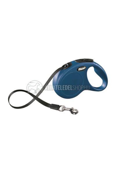 Flexi New Classic Szalagos automata póráz - M - 5m - kék