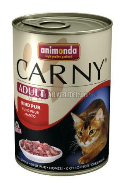 Animonda macskaeledel - Carny Adult Marha macskakonzerv 400g