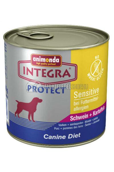 Animonda Integra - Protect Sensitive Disznó - Burgonya 600g