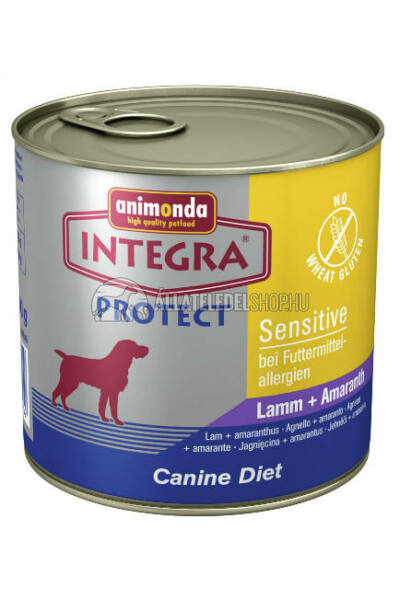 Animonda Integra - Protect Sensitive Bárány - Bársonyvirág 600g
