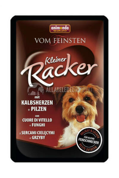 Animonda - Vom Feinst Racker Szív & Gomba alutasakos kutyáknak 85g